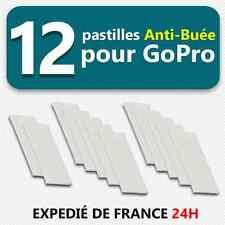 12 Pastilles Inserts Anti-buée filtre humidité Anti-fog - pour Gopro Hero 3 3+ 4