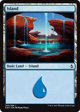 4 x Island (260/269) - Amonkhet - Magic the Gathering MTG Basic Land