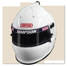 Simpson Air Inforcer Vudo Helmet SA2015 Pre Drilled for Hans Device-Necksgen