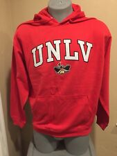 UNLV Hoodie Running Rebels - Brand is OVB - Size is Large L Fully Sewn Letters