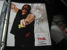 """2010 TNA Wrestling The Monster ABYSS 8"""" X 10"""" Color Press Photo"""