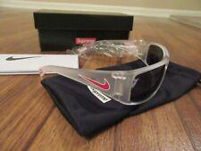 Supreme Nike Sunglasses Frosted White Grey Lens FW19G1 Molten EV0818 199 New NIB