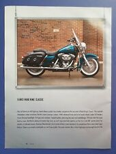 2002 Harley Davidson Motorcycle FLHRCI ROAD KING CLASSIC CATALOG PHOTO