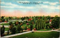 Vintage 1930's View of Idle Hour Farm in Lexington Kentucky KY Postcard