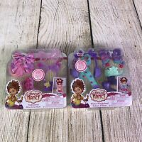 "Fancy Nancy 2 Outfits Fashionista Winter Wonderland Accessory Pack 10"" Doll"