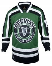 Guinness Hockey Jersey Green & Black ~ Officially Licensed ~ NEW