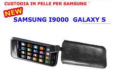 custodia eco PELLE sacchetto per SAMSUNG i9001 GALAXY s plus