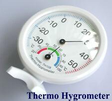 Thermometer Hygrometer Wetterstation f. Schule Büro Intdoor Sensor Deutsche Post