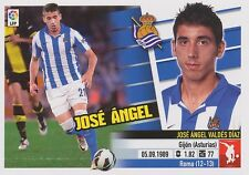 N°06B JOSE ANGEL VALDES # ESPANA REAL SOCIEDAD STICKER PANINI ESTE LIGA 2014