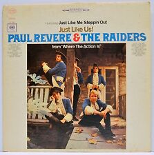 "PAUL REVERE & THE RAIDERS - ""Just Like Us!"" - 1966 Vinyl LP - COLUMBIA CL2451"