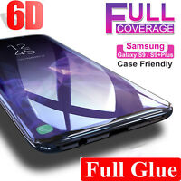 6D Screen Protector For Samsung Galaxy S8 S9 S9+ Note 8 9 Best 9H Tempered Glass