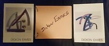 Dickon Eames American Sculptor 3 art pamphlets SIGNED by artist 1980