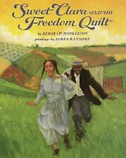 Sweet Clara and the Freedom Quilt (A Borzoi Book)-ExLibrary