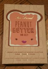 Too Faced PEANUT BUTTER & JELLY eyeshadow Palette NEW 100% AUTHENTIC Sold Out!