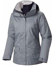 COLUMBIA Sleet To Street Interchange 3-in-1 Jacket Women Plus 1X Tradewinds Grey