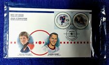 NHL CANADA POST 2000 NHL ALL-STAR GAME DAY OF ISSUE SET GRETZKY, ORR, RICHARD...
