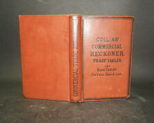 c1900 THE COMMERCIAL READY RECKONER & TRADE TABLES Interest Profit Discount &c