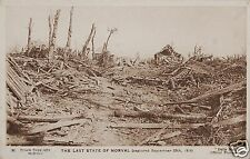 The Last State of Morval Sep 1916 Daily Mail World War 1 Photo 7x5 Inch Reprint