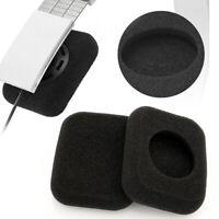 2Pcs Square Foam Ear Pads Covers For Bang & Olufsen/B&O/Beoplay Form 2/2i Black