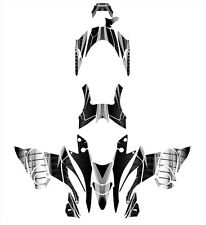 YAMAHA NYTRO 2008-13 Custom Graphics Wrap kit #1900 Metal