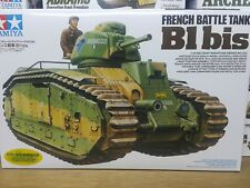 Tamiya 1/35 French Battle Tank B1 bis Model Tank Kit #35282