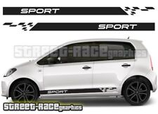 Seat Mii 009 Sport side racing stripes graphics stickers decals vinyl