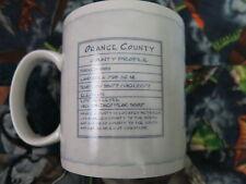Starbucks Orange County Architect Series Coffee Cup Mug