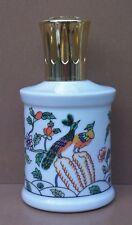 Ancienne lampe BERGER porcelaine GIRAUD EH PAONS à catalyse diffuseur de parfum