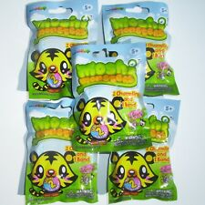 MOSHI MONSTERS SERIES 2. 5 x BLIND BAGS  EACH CONTAIN 2 CHARMLINGS + 1 WRISTBAND