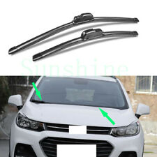 2x For Chevrolet Trax 2017-2018 Car Front Window Windscreen Wiper Blades Kits