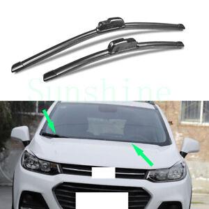2x For Chevrolet Trax 2017-2018 Car Front Window Windscreen Wiper Blades Kits
