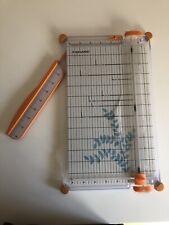 """Fiskars Surecut Scrapbooking Paper Craft Trimmer 12"""" Cut Length Blade"""