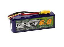 RC Turnigy nano-tech 6000mAh 4S 25~50C Lipo Pack w/XT-90