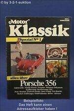 Motor Klassik Spezial Nr.1 Sonderheft  Porsche 356 Cabrio Speedster