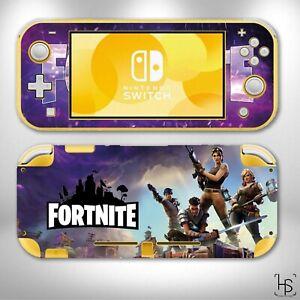 Nintendo Switch LITE Fortnite Design 1 Sticker Skins Decals Cover Game Case PC