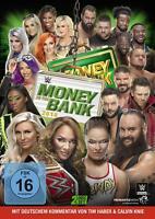 MONEY IN THE BANK 2018 -  WWE-AJ STYLES,SHINSUKE,NIA JAX ... 2 DVD NEU