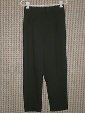 Womens DonnKenny Petite Black Dress Capris Size 12PS W:30-33 H:42 R:13.5 I:27