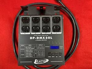 Elation DP - DMX20L 4 Channel DMX Dimmer Pack American DJ