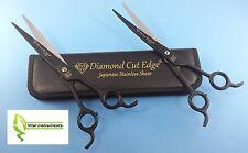 "Pet Dog Grooming Scissors Shears 8.5"" Professional Japanese Stainless STR + CVD"