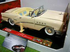 BUICK CENTURY cabriolet crème 1955 o 1/18 MIRA 9101 voiture miniature collection