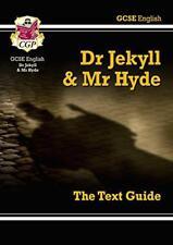 GCSE texto en Inglés Guide - Dr.Jekyll and Mr Hyde Por CGP Libros De Bolsillo