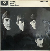 THE BEATLES ~ With The Beatles ~ 1963 UK Parlophone Second Pressing vinyl LP