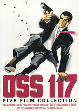 OSS 117 - FIVE FILM COLLECTION (DVD 3 DISC SET) ENGLISH SUBTITLES (N4)