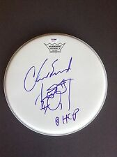 """Chad Smith signed autograph REMO 10"""" Drumhead PSADNA Red Hot Chili Peppers"""