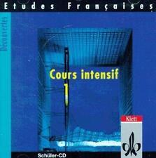 Etudes Françaises - Decouvertes, Cours Intensif: Etudes Francaises, Decouve - CD