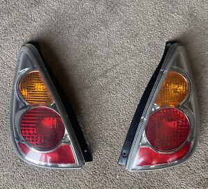 2005-2007 Suzuki Aerio OEM Tail Lamps Driver Left & Passenger Right Tail Lights