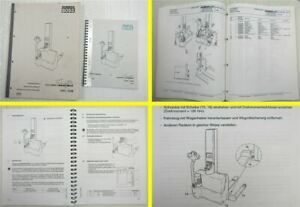 Steinbock Boss EMC EMB Swift Bedienungsanlaitung 1997 Ersatzteilliste 1999