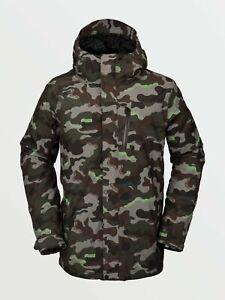 VOLCOM Snow 2021 Men's L Gore-Tex Snow Jacket - ARM - Medium - NWT