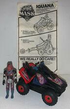 M.A.S.K. loose IGUANA vehicle w/ Lester Sludge 1985 Kenner toys