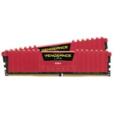 16GB Corsair Vengeance LPX DDR4 2133MHz PC417000 CL13 Dual Channel Kit 2x8GB Red